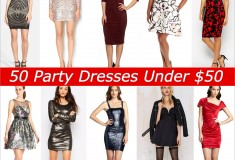 50 Holiday Party Dresses Under $50