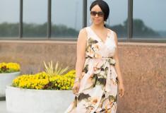A Fan of Floaty Floral Dresses