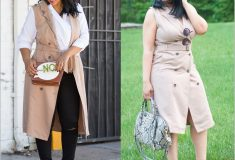 Two Ways to Wear: The Trench Dress