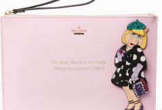 Holiday Gift Idea #3: kate spade new York miss piggy britta clutch