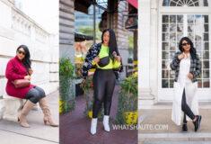 Three Ways to Wear Faux Leather Leggings